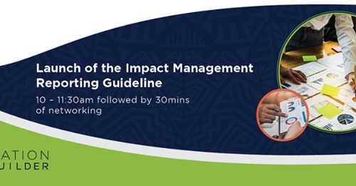 Launching the Nation Builder impact reporting guide – Join us!